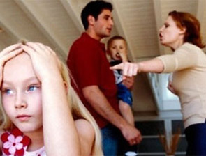 Кофликты родителей при ребенке