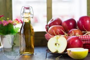 Ополаскиватель яблочным уксусом для зубов