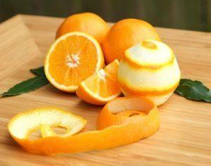 Апельсиновая кожура и лавровый лист для зубов