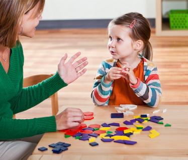 Занятия с ребенком по развитию речи