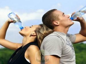 Обязательно в жару пить воду