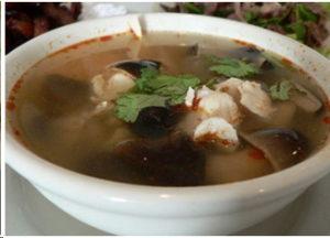 Душистый суп из вешенок