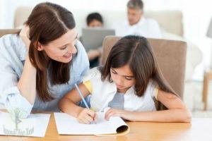 Как помочь ребенку при выполнении домашних заданий