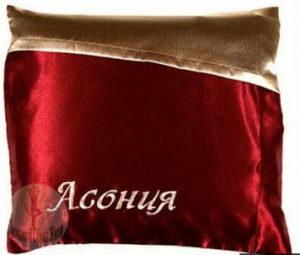 Особые характеристики подушки Асония