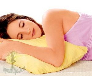 Действие, которое оказывает подушка