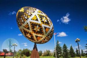 Пасхальное яйцо 2 тонны в Канаде
