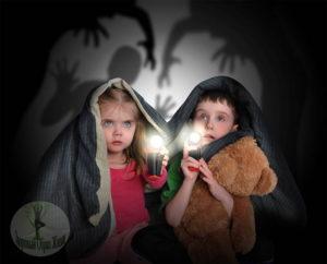 Страх детей от темноты и одиночества