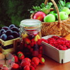 Осенний запас витамини - ягод и фруктов