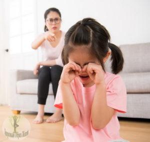 При каких обстоятельствах нельзя наказывать ребенка